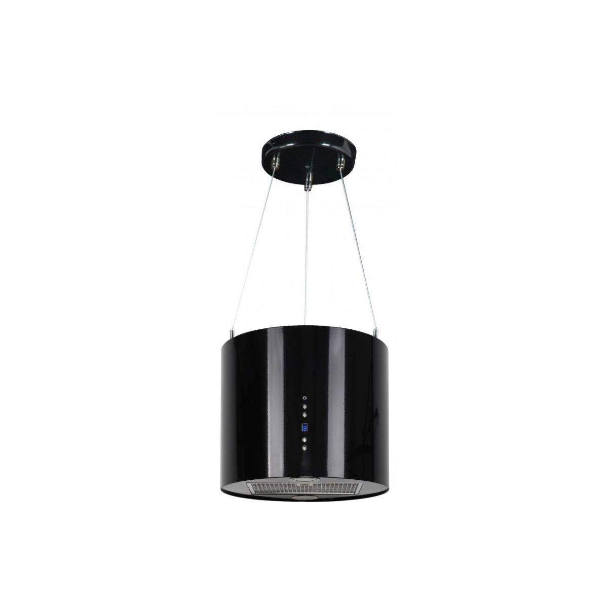 Design frihängande köksfläkt Explorer XS svart