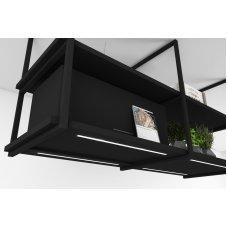 Premium line frihängande köksfläkt Loft R med Plasma filter