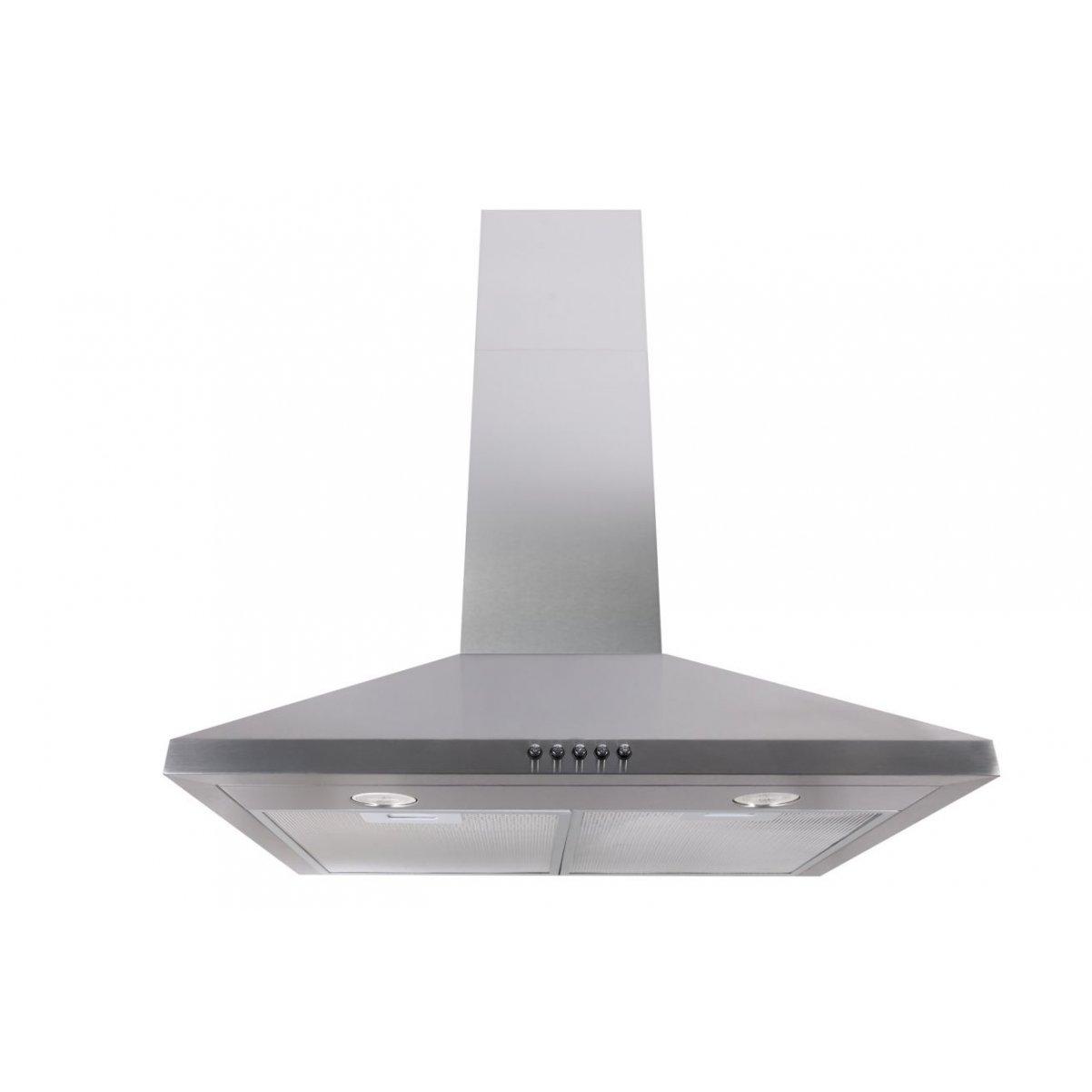 Vägghängd köksfläkt ALDIS 50cm/ 60cm rostfritt stål