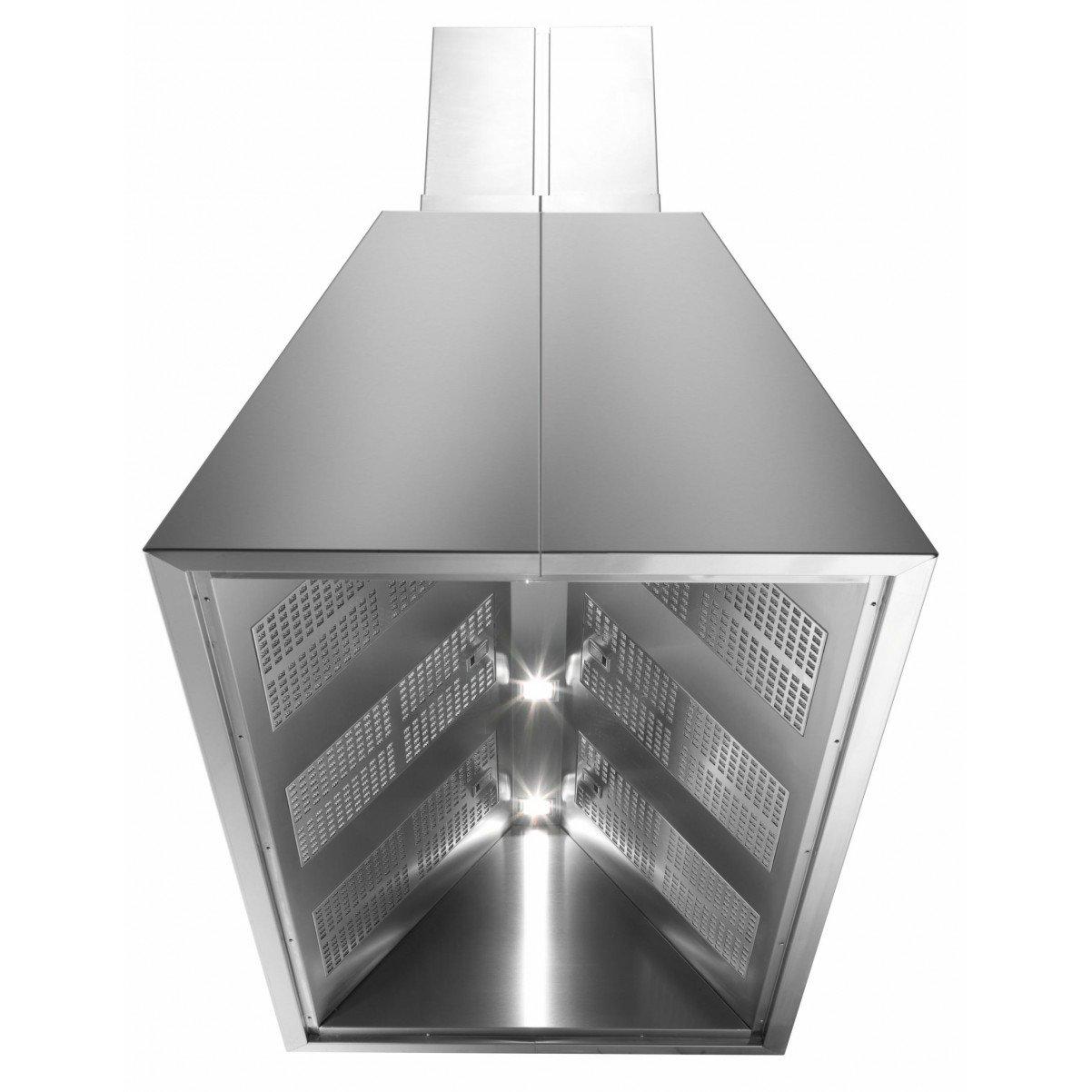 Premium line   frihängande köksfläkt Chef 90cm/120cm