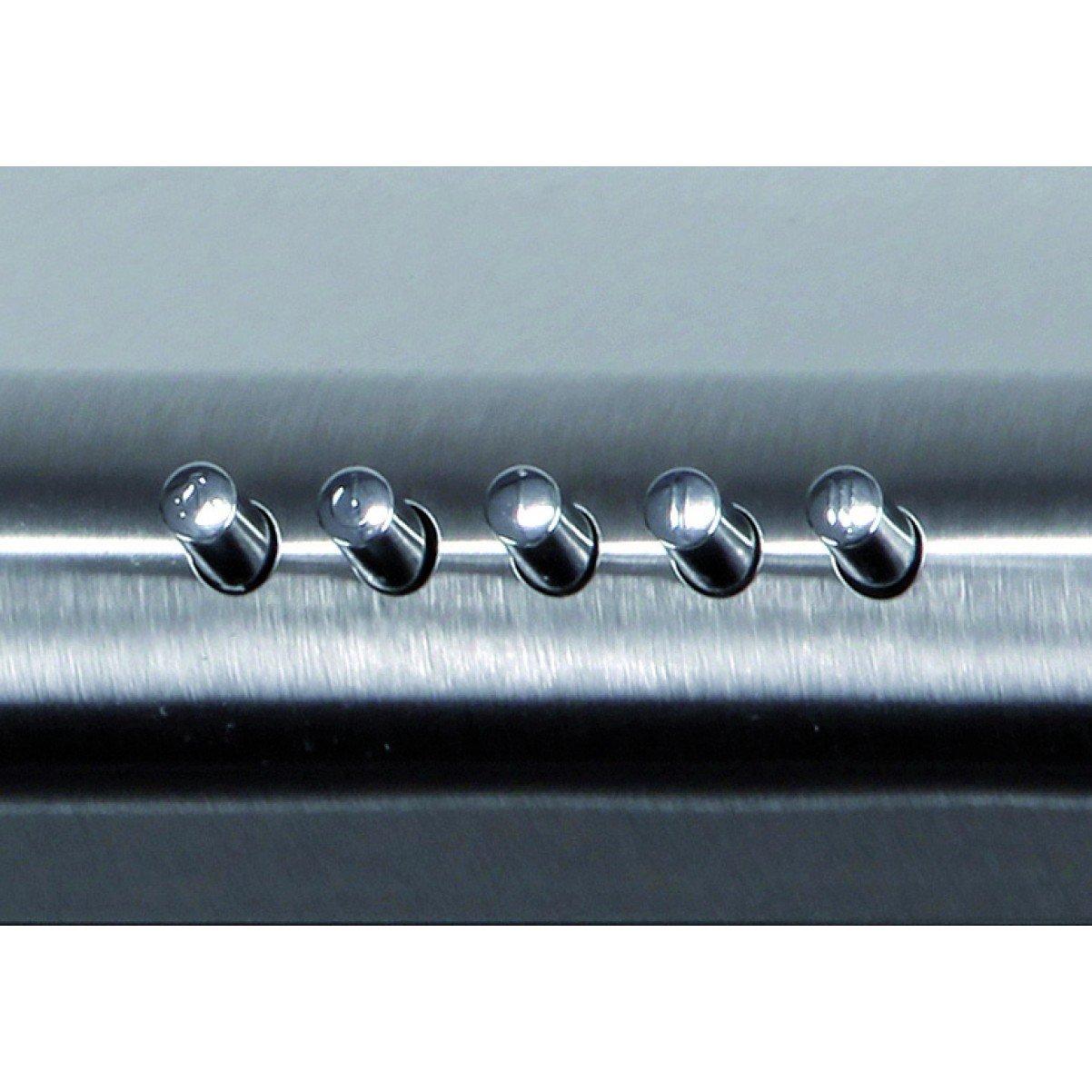 Underbyggnadsfläkt Neon borstat rostfritt stål 50cm/ 60 cm