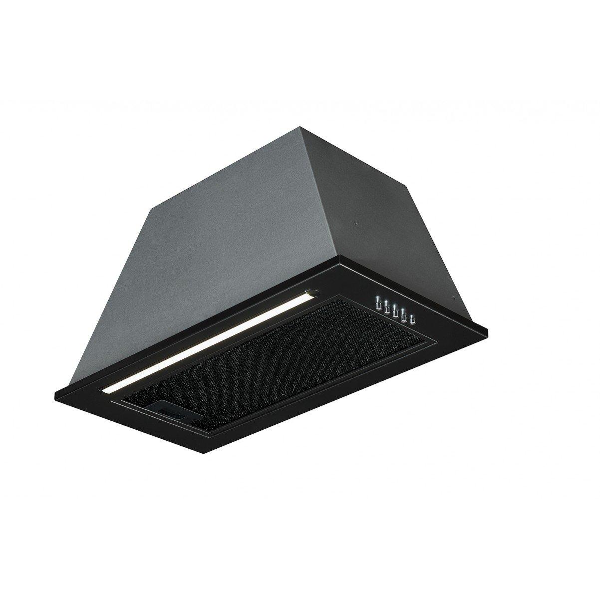 Underbyggnadsfläkt Tovre svart 60 cm/ 90 cm