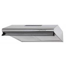 Underbyggnadsfläkt NEON borstat rostfritt stål 50cm/ 60 cm+ LED