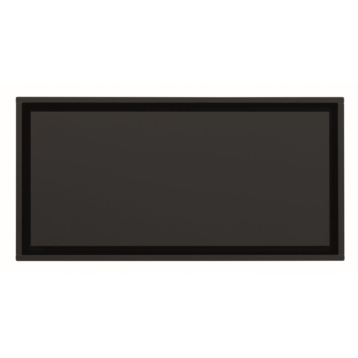 Premium line tak integrerad köksfläkt Swedluxury Pure svart matt  |linjär LED belysning