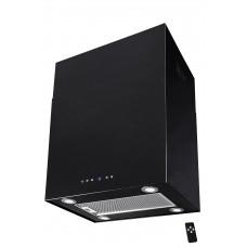 Lyx vägghängd skåp köksfläkt SEMPRE 40cm / 60cm svart