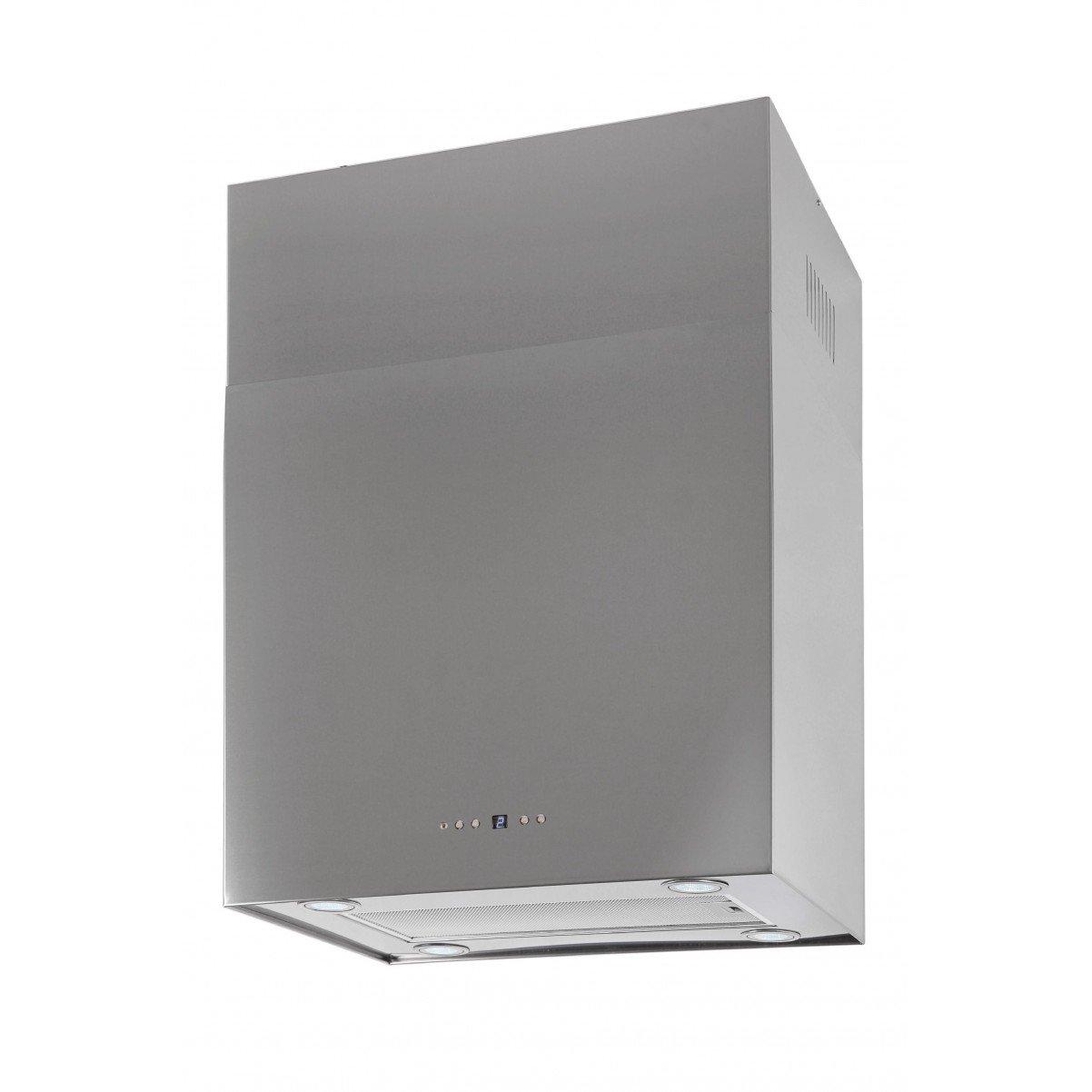 Lyx vägghängd köksfläkt SEMPRE 40cm / 60cm rostfritt stål